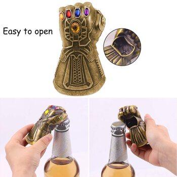 Abre-botellas Guantelete de Thanos