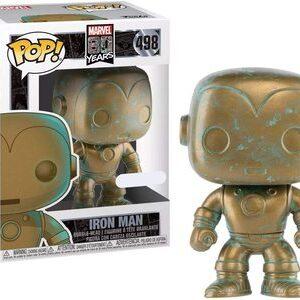 Funko Pop 80 aniversario Marvel Ironman con patina