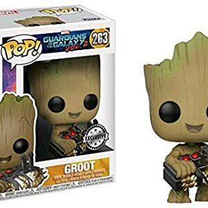 Funko Pop Groot con bomba