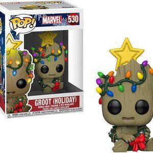 Funko Pop Groot Especial Navidad
