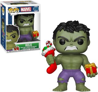 Funko Pop Hulk Especial Navidad