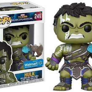 Funko Pop Hulk Thor Gladiator Ragnarok Exclusive