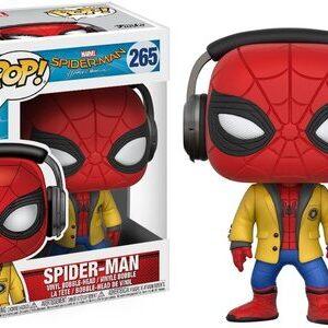 Funko Pop Spider-man Homecoming con cascos