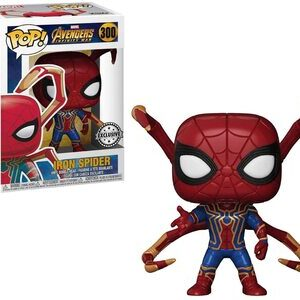 Funko Pop Spider-man Infinity War Iron Spider