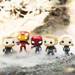 El gran sitio de Los Vengadores de Marvel. Funko Pop Vengadores Infinity War