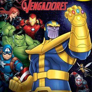 Libro-juego de Vengadores Infinity War. Cuento, figuritas y tapete