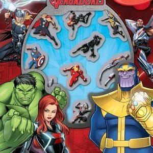 Libro-juego de Vengadores Infinity War. Libro y ventosas