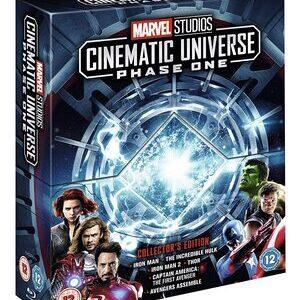 MCU Universo Cinematico Marvel. Pack Fase 1 en ingles
