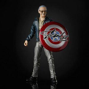 Marvel Legends Figura Stan Lee en acción