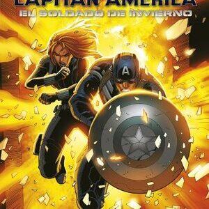 Marvel. Libro de la pelicula Capitan America, Soldado de Invierno