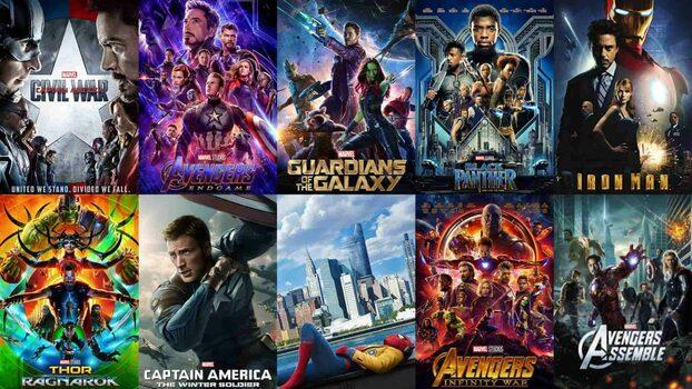 El gran sitio de Los Vengadores de Marvel. Peliculas de Marvel