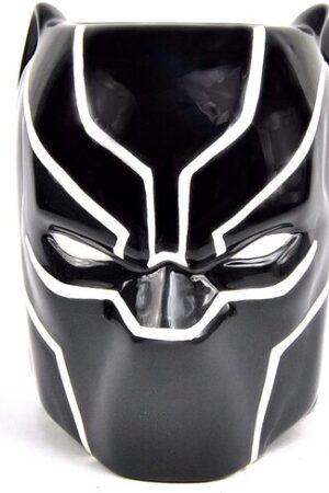 S2 Taza Cabeza Black Panther Marvel