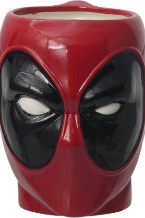 S2 Taza Cabeza Deadpool Marvel