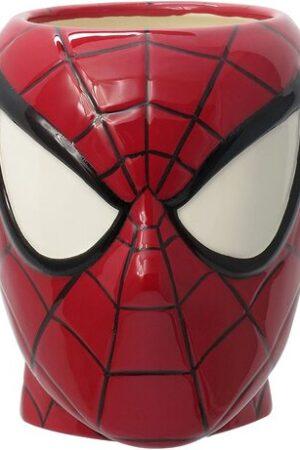 S2 Taza Cabeza Spider-Man Marvel