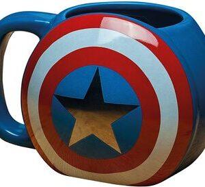 Productos y Artículos de Marvel S2 Taza Escudo Capitan America Marvel