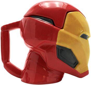 S23 Taza Cabeza Ironman ABYstile cambia color con calor