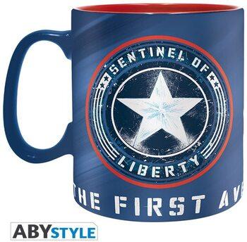 S23 Taza Capitan America Imagen y Logo ABYstile
