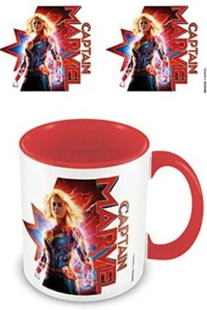 S3 Taza Marvel Capitana Marvel