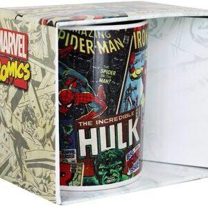 S3 Taza Marvel Comics retro color