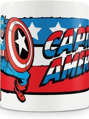 S3 Taza Marvel Vintage Capitan America