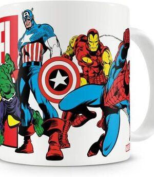 S3 Taza Marvel Vintage Marvel Comics Heroes
