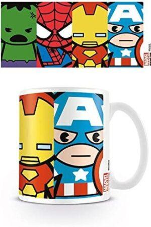 S4 Taza Hulk Spider-Man Ironman Capi
