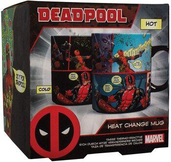 S5 Taza Deadpool Cambia color con calor
