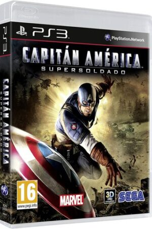 Videojuego Capitan America PS3 Wii DS