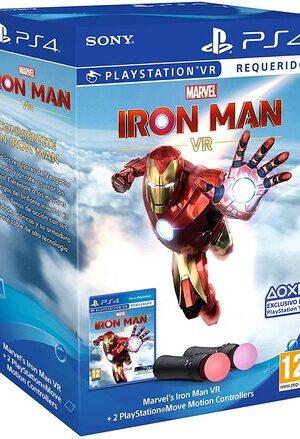 Videojuego Ironman VR PS4 + Mandos Move Twin pack