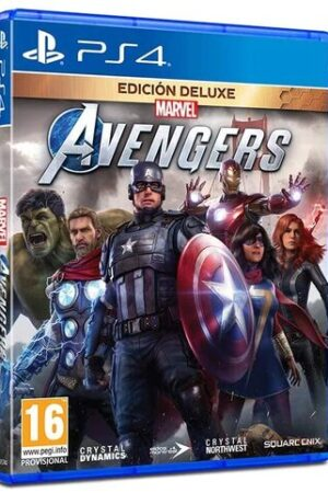 Videojuego Marvel Avengers PS4 Ed. Deluxe