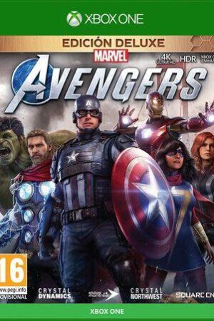 Videojuego Marvel Avengers XBOX ED. Deluxe