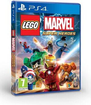 Videojuego Marvel Superheroes de Lego PS4
