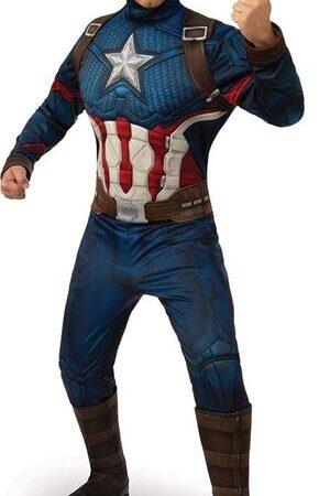 Adulto Disfraz de Capitán América Vengadores