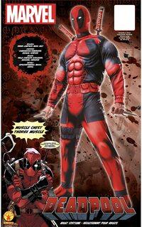 Adulto Disfraz de Deadpool de Hombre