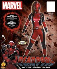 Adulto Disfraz de Deadpool de Mujer