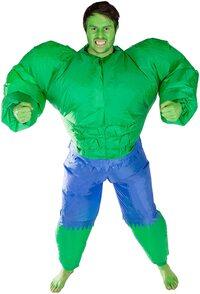 Adulto Disfraz de Hulk Hinchable
