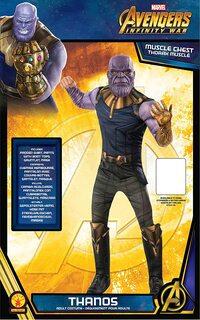 Adulto Disfraz de Thanos