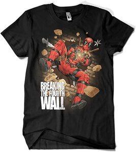 Camiseta Deadpool Breaking the Fourth Wall (La Colmena)