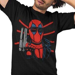 Camiseta Deadpool Hasta la Vista Baby (La Colmena)
