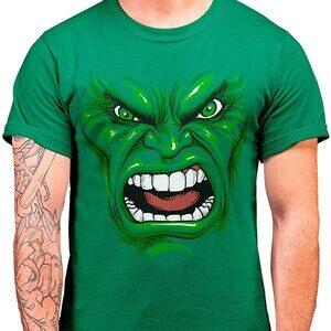 Camiseta Hulk Face (La Colmena)