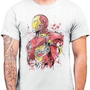 Camiseta Ironman Iron Watercolor (La Colmena)