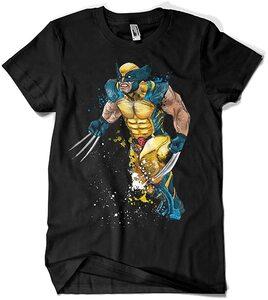 Camiseta Lobezno Mutant Rage Watercolor (La Colmena)