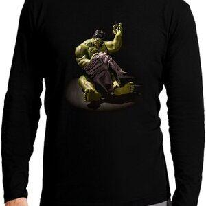 Camiseta Manga Larga Niño Hulk