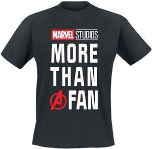 Las mejores camisetas de Marvel Camiseta Marvel Studios Más que un fan