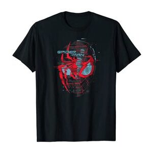 Camiseta Spider-Man Miles Morales máscara borrosa