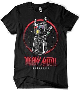 Camiseta Thanos Guantelete Heavy Metal Universe (La Colmena)