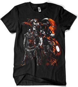 Camiseta Vengadores Civil War (La Colmena)
