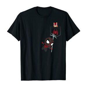 Camiseta manga corta Miles Morales Spider-Cat