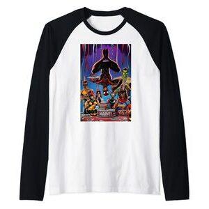 Camiseta manga raglan Spider-Man Miles Morales Feliz Cumplaños