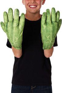 Disfraz de niño de Hulk guantes
